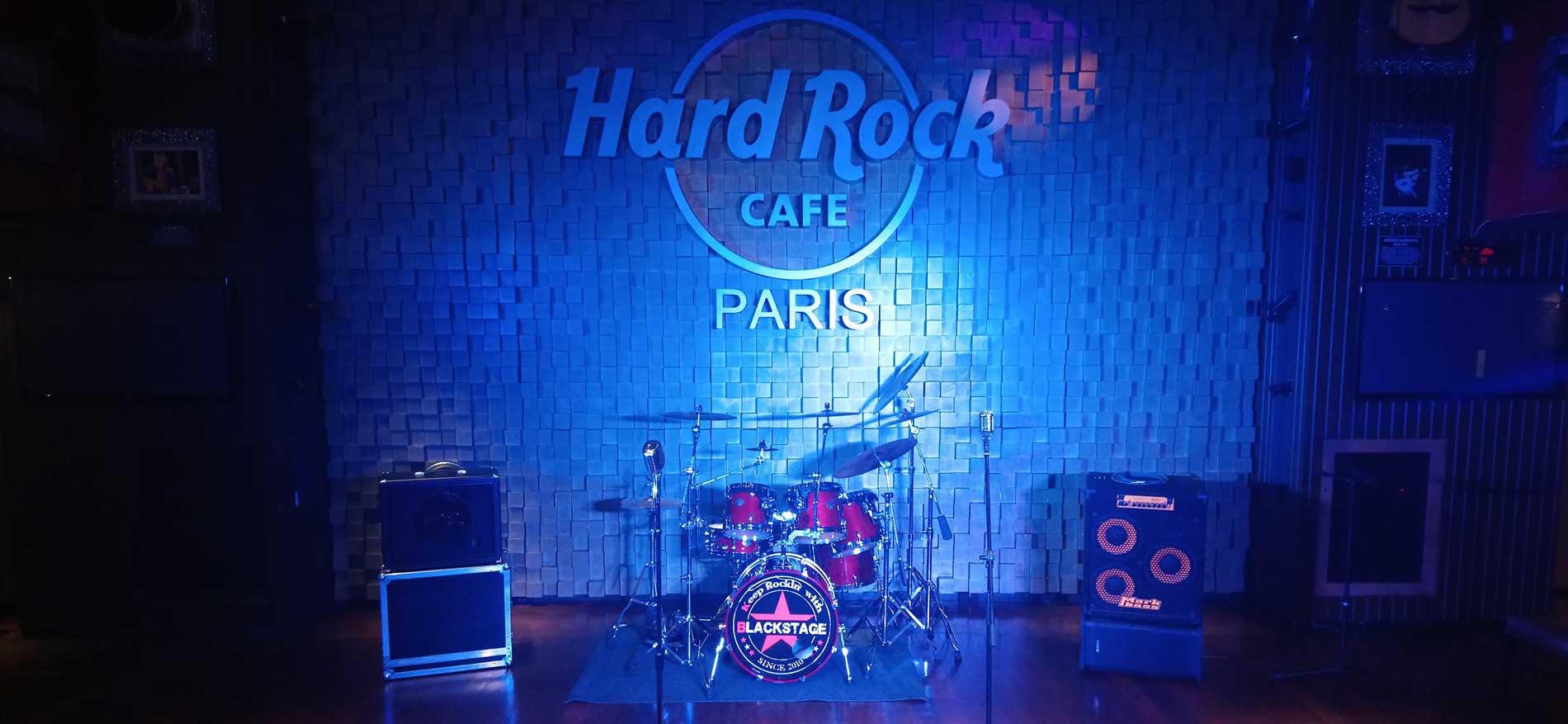 [VIDÉO-CLIP] Blackstage au Hard Rock Café, Paris
