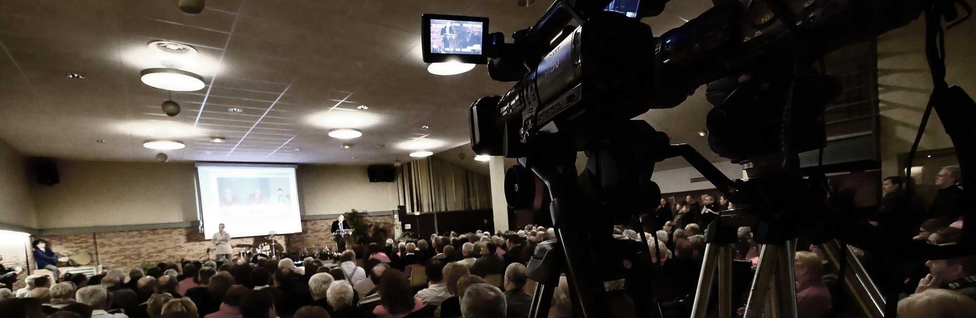 captation multi caméras de conférence lors de sémainaires ou événements publics